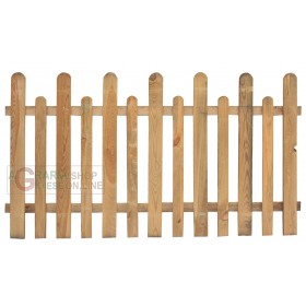 HIGH ENGLISH IMPREGNATED PINE FENCE cm. 175X100H