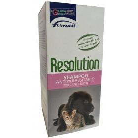 Resolution shampoo antiparassitario per cani e gatti Formevet