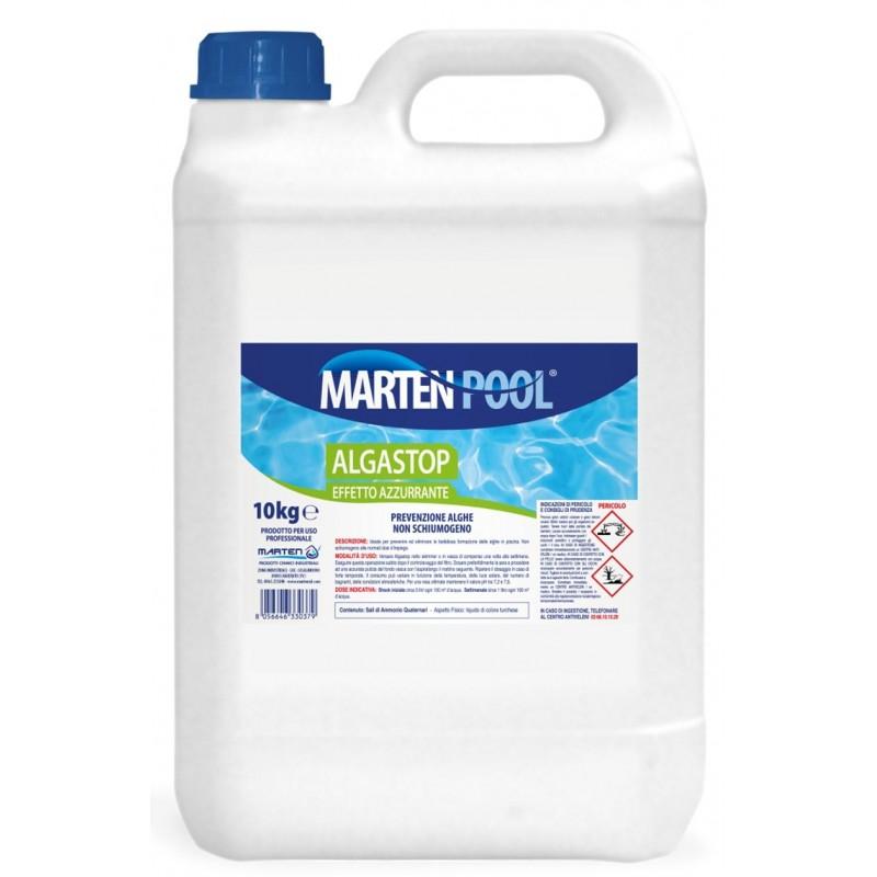 Antialghe per piscine tensioquat ta 10 lt 5 - Antialghe per piscina dosaggio ...