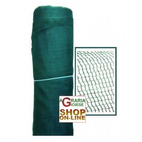 NET FOR OLIVE HARVESTING HAZELNUTS ANTI THORNS ROLL MT. 6 x 100