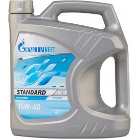RHUTTEN LUBRICANT OIL GAZPROMNEFT STANDARD 15W-40 LT. 4