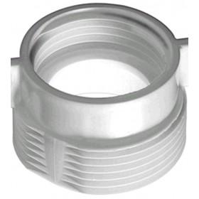 RIDUZIONE IN PLASTICA PER SIFONE LAVELLO M1 1/4 F11/2 POLL.
