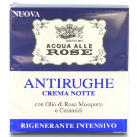 ROBERTS ACQUA ALLE ROSE CREMA VISO ANTIRUGHE SENSITIVE PELLI SENSIBILI 50 ML