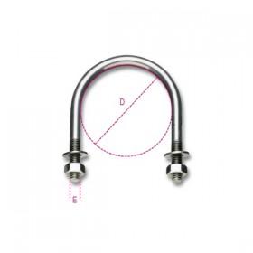 Robur Collari per sostegno tubazioni acciaio inox 1/2 SX22