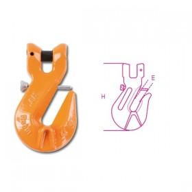 Robur Fork shortening hooks with safety lock high resistance alloy steel 10 EN1677-1 TON. 3.15