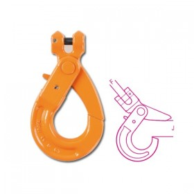 Robur Self-locking fork hooks for lifting high resistance alloy