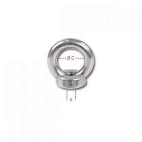 Robur AISI 316 stainless steel female eyebolts 8