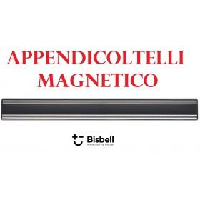 APPENDICOLTELLI MAGNETICO ALLUMINIO PROFESSIONALE BISBELL NERO