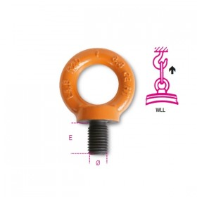 Robur Eye bolts for lifting in high-strength alloy steel GR.8