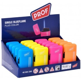 PROF SINGLE BLUEFLAME FLUO COLOR LIGHTERS
