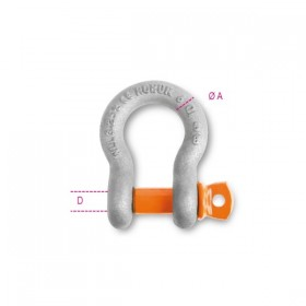 Robur Lyre shackles for lifting EN13889 TON. 4.75 R19