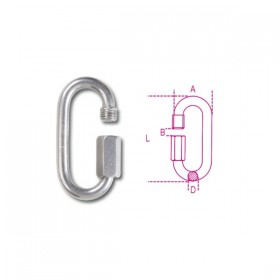 Robur Junction links AISI 316 8X74 stainless steel