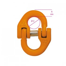 Robur Junction links for lifting, high resistance alloy steel