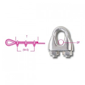 Robur AISI 316 stainless steel clamps 3
