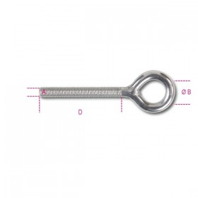 Robur Eye screws for stainless steel AISI 316 M6 anchors