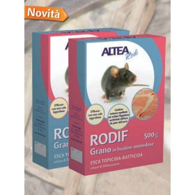 RODIF - Wheat TOPICIDE-RACTICIDE BAIT WHEAT, IN SINGLE-DOSE