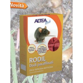 RODIL TOPICIDE-RACTICIDE BAIT IN PARAFFIN NUTS
