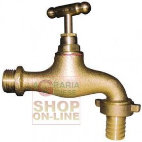 BRASS BUTTERFLY TAP WITH 3/4 '' HOSE HOLDER
