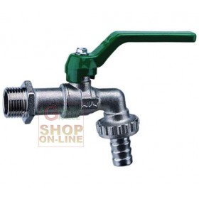 BRASS BALL TAP, 1 INCH CONNECTION