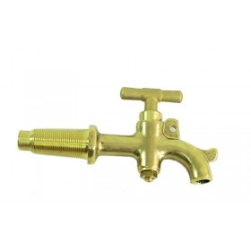 CONICAL TAP FOR OENOLOGICAL WINE TASTER IN BRASS MM.8