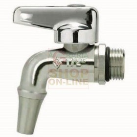 STEEL CONTAINER TAP FOR OIL 1/2 IN. BRASS