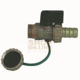 DRAIN TAP FOR BOILER 1/2 INCH LEVER CONTROL