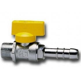 STRAIGHT BALL VALVE FOR MALE GAS HOSE HOLDER CIM 170 DIAM 1 /