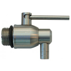 STAINLESS STEEL TAP FOR CAPALDO 1/2 LEVER CONTAINER