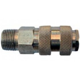 MALE QUICK VALVE 1/2 FOR COMPRESSED AIR
