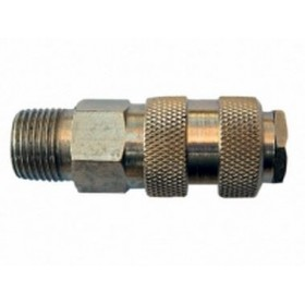 MALE QUICK VALVE 3/8 FOR COMPRESSED AIR