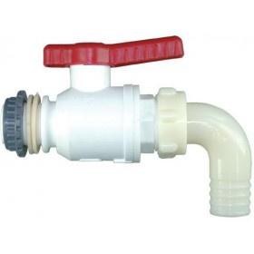 NYLON BALL TAP DIAM. 3/4 HOSE HOLDER 25 FOR FOOD