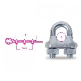 Robur Morsetto in acciaio zincato (1/4) mm. 6