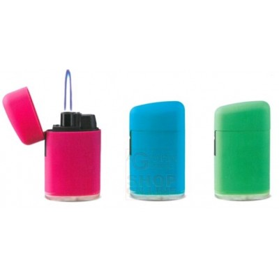 SOFT TOUCH rechargeable electronic gas lighter with windproof