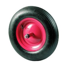 FULL WHEEL FOR WHEELBARROWS SHORT PIN 17 CM