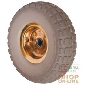 RUN FLAT WHEEL FOR TROLLEYS ART. PR1800-S PU-F MM.260x85