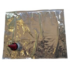 ALUMINUM BAG FOR FOOD BAG IN BOX WITH TAP LT. 3
