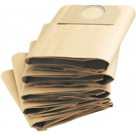 PAPER FILTER BAGS FOR KARCHER MV3 VACUUM CLEANER PCS 5