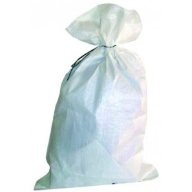 WHITE POLYETHYLENE BAG LARGE CM. 50X95