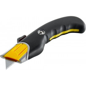 SAFETY CUTTER TAGLIERINO A LAME RETRATTILE CON IMPUGNATURA