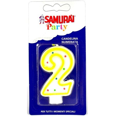 SAMURAI PARTY COMPONIBLE CANDLE N.2