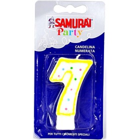 SAMURAI PARTY COMPONIBLE CANDLE N.7