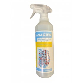 SANAGIEN Pronto use spray sanitizes and sanitizes in depth ready to use against fungi and bacteria for prophylaxis COVID-19 CORO