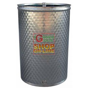 SANSONE STAINLESS STEEL CONTAINER WELDED BARREL LT. 300