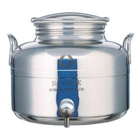 SANSONE STAINLESS STEEL CONTAINER IL GIOIELLO WITH TAP LT. 5