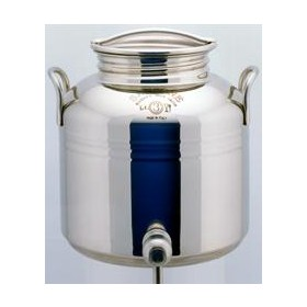 SANSONE STAINLESS STEEL CONTAINER LT. 3 WITH TAP