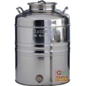SANSONE STAINLESS STEEL CONTAINER LT. 20 PREPARED