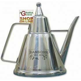 SANSONE STAINLESS STEEL OIL JUG CL. 100
