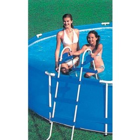 DOUBLE LADDER ASCENT CM. 122 FOR INTEX POOL