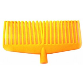 21 TEETH YELLOW OLIVE Broom