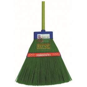 Broom PPL-GREEN WITH HANDLE MOD. VERDEMEC